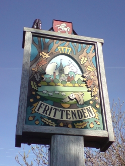 Frittenden village sign