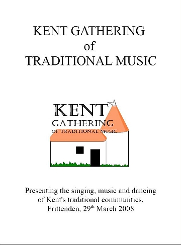 Kent gathering of Traditional Music Programme